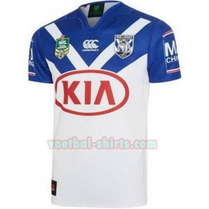 canterbury bankstown bulldogs mannen thuis voetbal rugby shirts 2017-2018 wit
