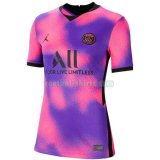 paris saint germain dames fourth voetbal shirts 2020 2021 purper