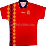 spanje mannen thuis voetbal shirts 1994 rood