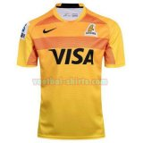 jaguares mannen thuis voetbal rugby shirts 2017-2018 geel