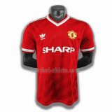 manchester united mannen thuis player voetbal shirts 1986