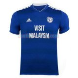 cardiff city mannen thuis voetbal shirts 2018-2019 blauw
