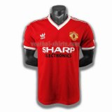 manchester united mannen thuis player voetbal shirts 1983
