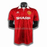 manchester united mannen thuis player voetbal shirts 1994