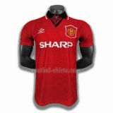manchester united mannen thuis player voetbal shirts 1994 1996