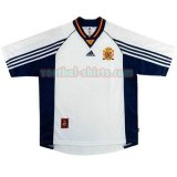 spanje mannen uit voetbal shirts 1998 wit