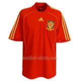 spanje mannen thuis voetbal shirts 2008 rood