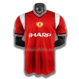 manchester united mannen thuis player voetbal shirts 1985