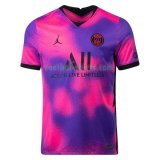 paris saint germain mannen fourth voetbal shirts 2020 2021 purper